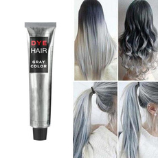 Gray, Fashion, dyehair, hairdyecream