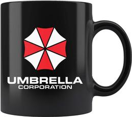 Evil, Coffee, Umbrella, residentevil