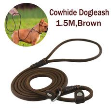 Rope, leather, Medium, leatherdogleash