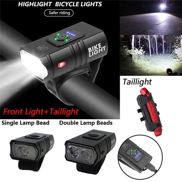 Bicycle Lamp Head Bicycle head light Head Usb Interface Lighting T6 Lamp H B0N8