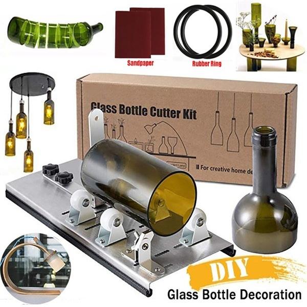 champagne, craftknife, bottlecutter, glasscutter