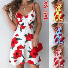 Mini, Plus Size, slim dress, Rose