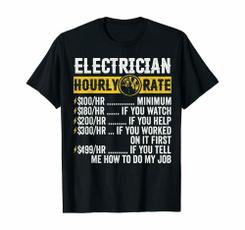 hourly, Fashion, Electrician, Shirt