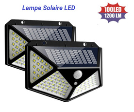 lampesolaire, led, lampeled, spotexterieur