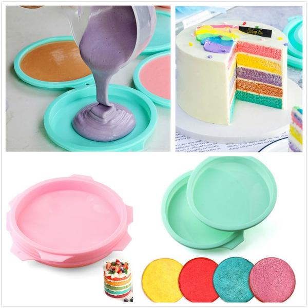 rainbow, pastrytool, Baking, Silicone