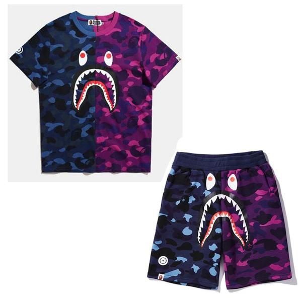bapesuit, Shark, Shorts, bapetshirt