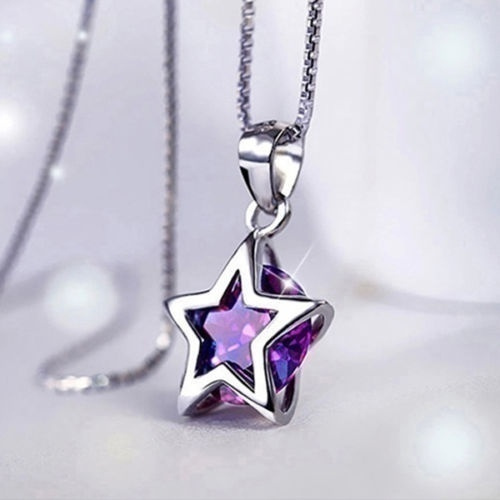 Sterling, Star, Jewelry, Chain