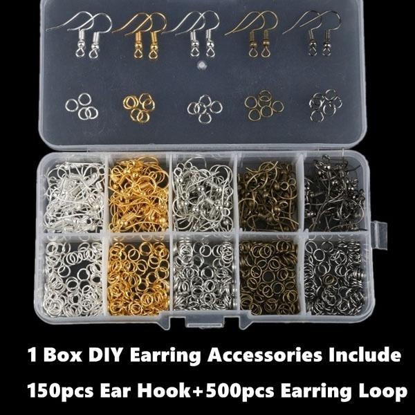Box, Jewelry, Earring Findings, diyaccessorie
