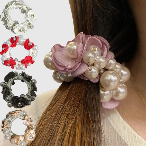 pearlhairband, Flowers, Jewelry, flowerhairband