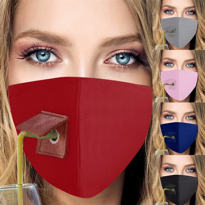 RANYG Men Women Dust-Proof Mouth Cover Safety Multi Usage Face Cover Up Washable Adjustable Earloop Dust Face Cover