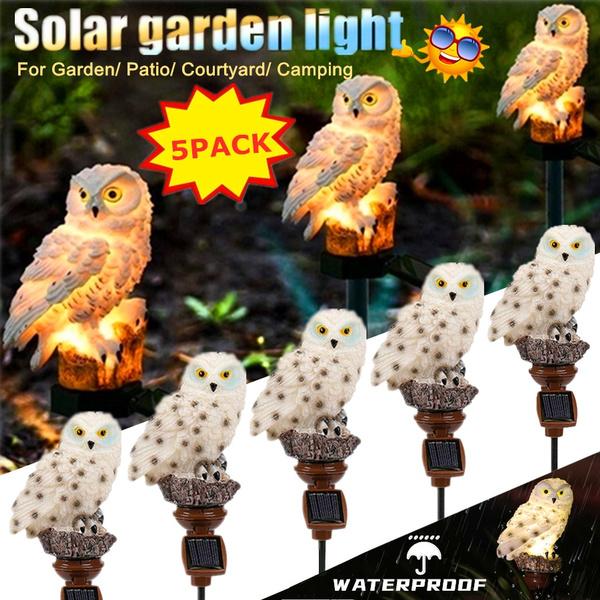 Owl, lawnlight, solargardenlight, Solar