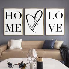 decoration, Love, canvasart, Wall Art