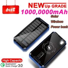 Flashlight, Battery Pack, Solar, Waterproof