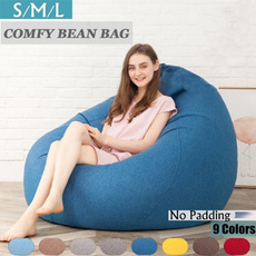 Cotton, beanbag, puffsofa, couch