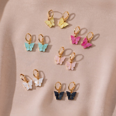 butterfly, cute, Korea fashion, Dangle