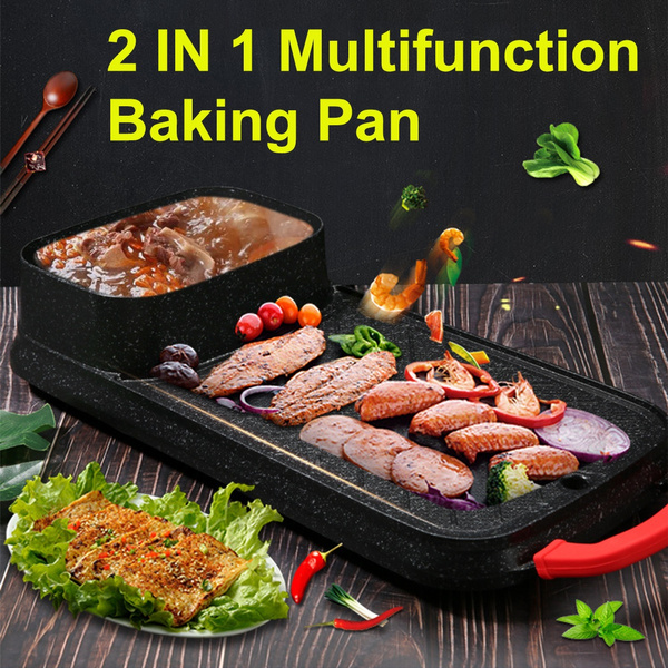 hotpot, Grill, Family, electricbbqpan