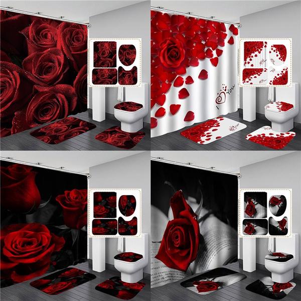 womenshowerrug, valentinedaygift, Bathroom Accessories, valentinedaydecor