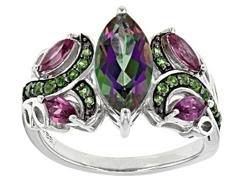 Mystic, DIAMOND, wedding ring, 925 silver rings