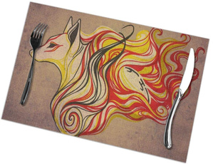 tablemat, tablematssetof6, placemat, okami