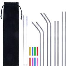 case, Steel, reusestraw, straw