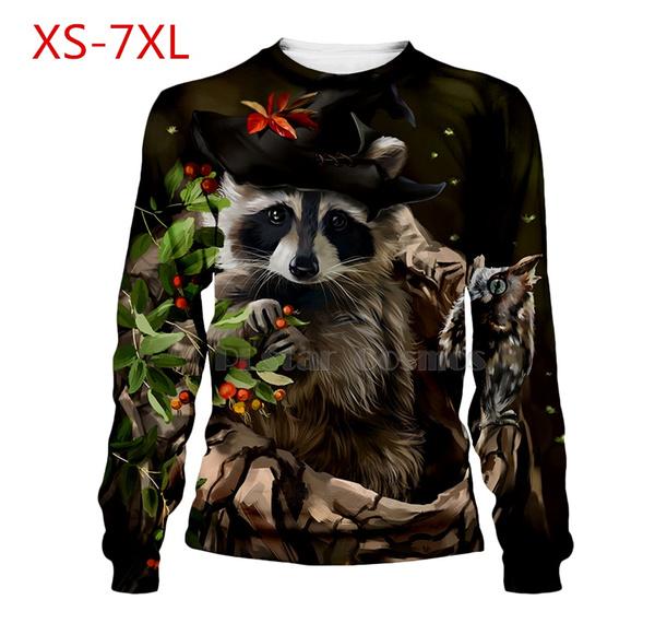 3d sweatshirt men, Winter, Animal, 3dhoodiesmen