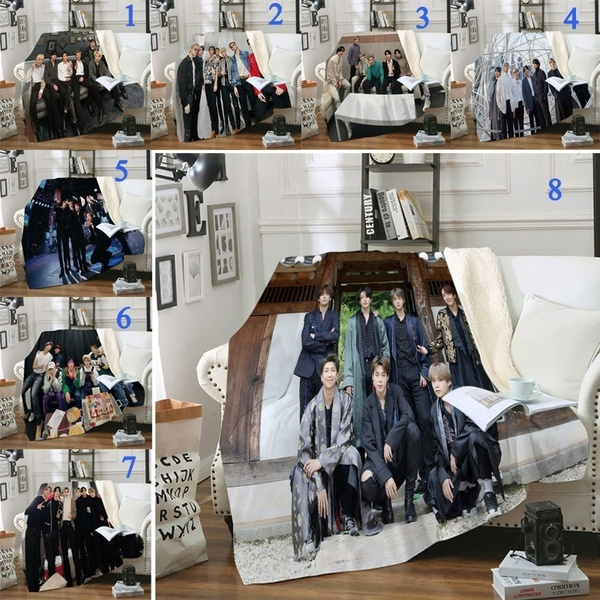 K-Pop, Blankets & Throws, warmblanket, bedblanket