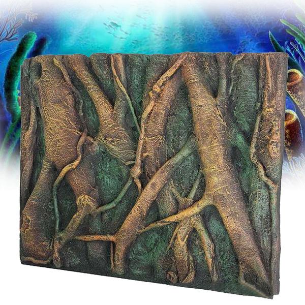 3d Foam Rock Reptile Aquarium Fish Tank Background Backdrop Diy Decoration 24 X 18 Wish