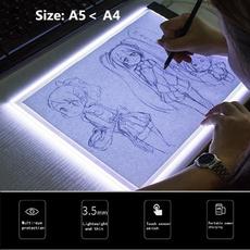 Art Supplies, led, leddrawingboard, lightbox