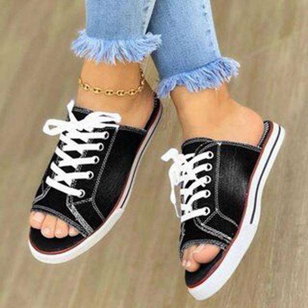 Summer, Sandals, koreanversion, New pattern