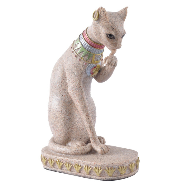 Collectibles, catstatueornament, Vintage, Egyptian