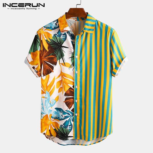 Summer, Fashion, Hawaiian, printed shirts