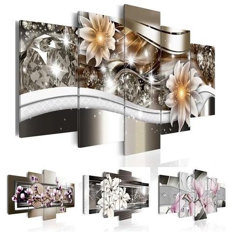 Flowers, art, Home Decor, Home & Living