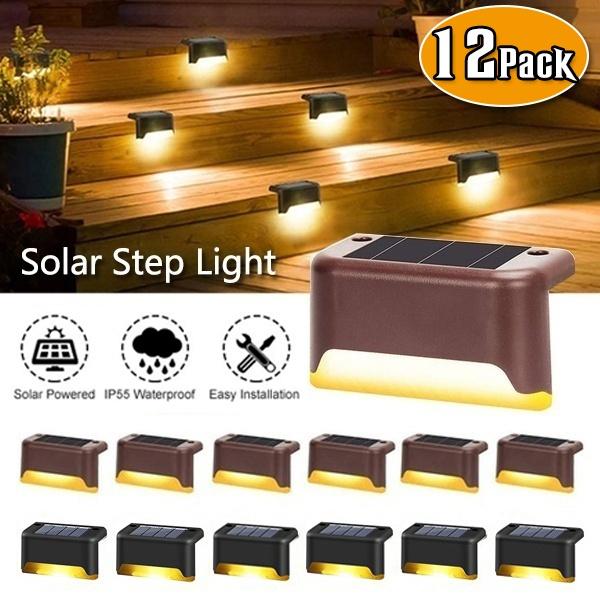 fencelight, led, solarsteplamp, Waterproof
