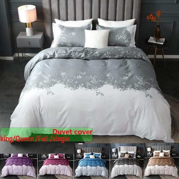 beddingkingsize, Gray, beddingqueensize, duvetcoversset