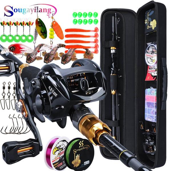 fishingset, Fiber, fishingrod, Travel