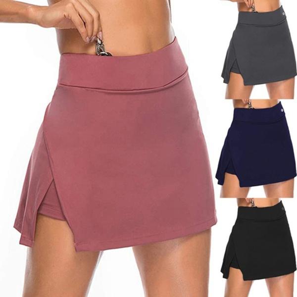 Polyester, Fashion, high waist, Irregular