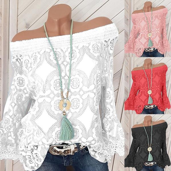 blouse, Bat, Plus Size, Tops & Blouses