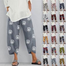 harem, elastic waist, cottonpant, Cintura