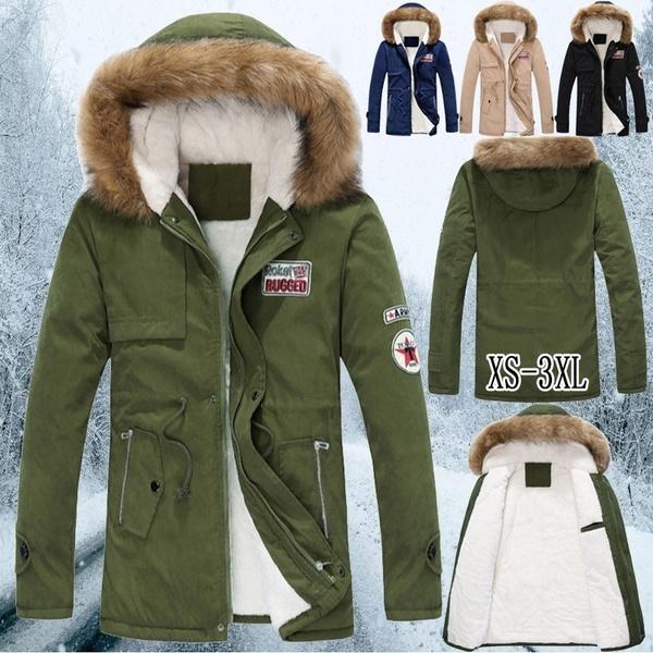 Jacket, parkasjacket, warmjacket, fur