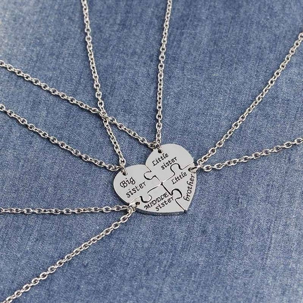 Heart, sister, Love, Jewelry