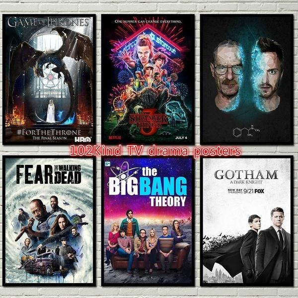 gameofthrone, vintageposter, movieposter, Posters