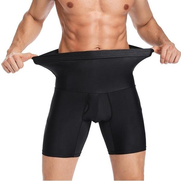 highwaistshapingshort, Underwear, highwaistshortsformen, slimmingshapewearshort