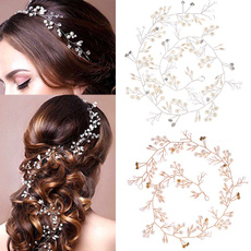 Head Bands, crown, pearls, wireheadband
