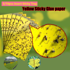 Garden, insecttrapcatcher, stickygluepaper, insectstickytrap