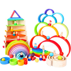 rainbow, Toy, montessoritoy, Educational Toy