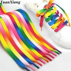 rainbow, Sneakers, rainbowshoelace, Elastic