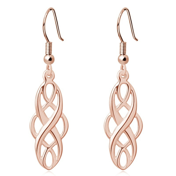 Celtic, Dangle Earring, Jewelry, Hollow-out