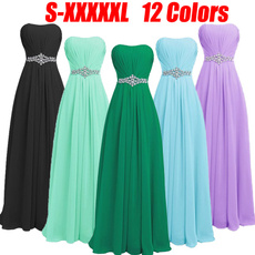 gowns, sweetheart, Plus Size, chiffon