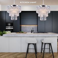 chandeliercrystal, Modern, lampshape, pendantluminaire