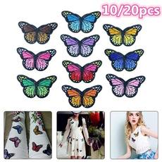butterfly, sewingclothing, diypatche, Iron